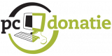 Logo PC-Donatie (Viafrica & SiSo)